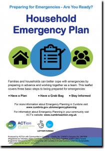 Household Emergency Plan guide