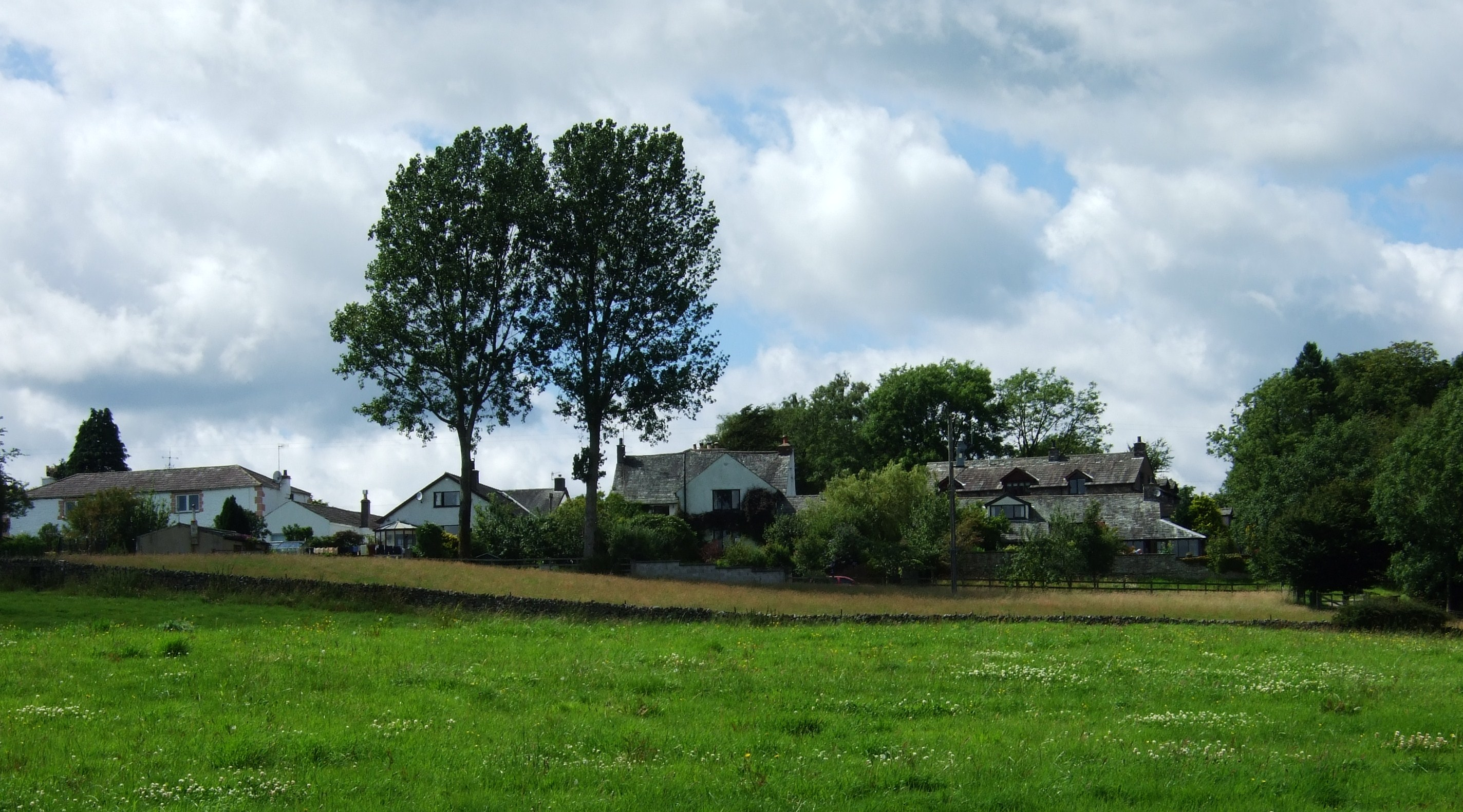 Prizet houses and fields