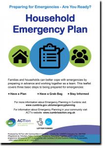 Household Emergency Plan guide